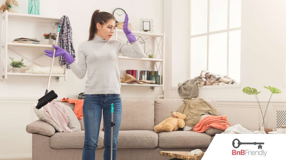 Is Your Airbnb Dirty? How to Clean it